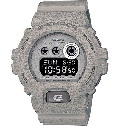 Casio G-Shock Heathered Series Grey Digital Dial Quartz Men's Watch GDX6900HT-8