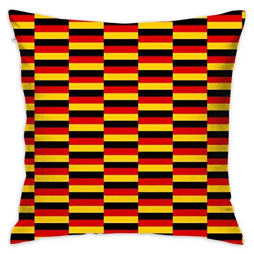 Opi 90iuop Deutschland Flagge Dekokissenbezug Kissenbezug Car Sofa Home Dekorative 18x18 Kissenbezug (Deutschland In Ist Feiertag Halloween Ein)