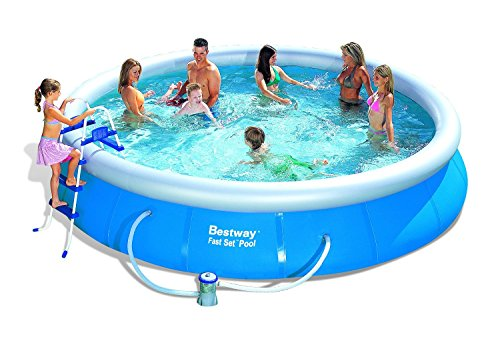 Bestway 57124GS Fast Pool Set mit Filterpumpe GS, 457 x 91 cm