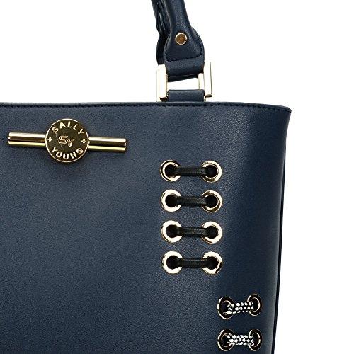 Sally Young ,  Damen Tasche blau
