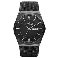 Reloj Skagen SKW6006 de cuarzo para hombre con correa de acero inoxidable, color negro de Skagen Denmark