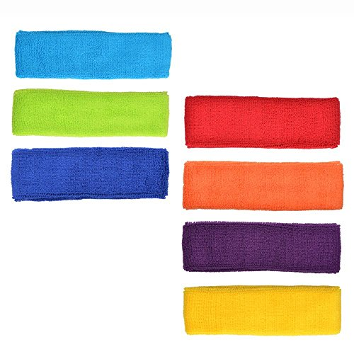 7-pcs-different-color-cotton-sports-basketball-headband-sweatband-head-sweat-band-brace