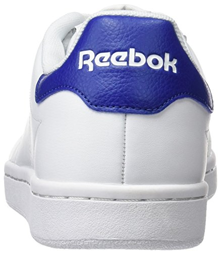 Reebok Royal Smash, Chaussures de Sport Homme Blanc Cassé - Blanco (White / Team Dark Royal)