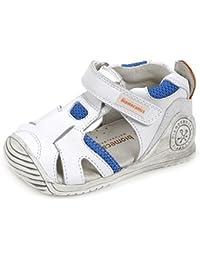 Zapatos de cordones para ni�o, color Blanco , marca BIOMECANICS, modelo Zapatos De Cordones Para Ni�o BIOMECANICS U420 PNV Blanco