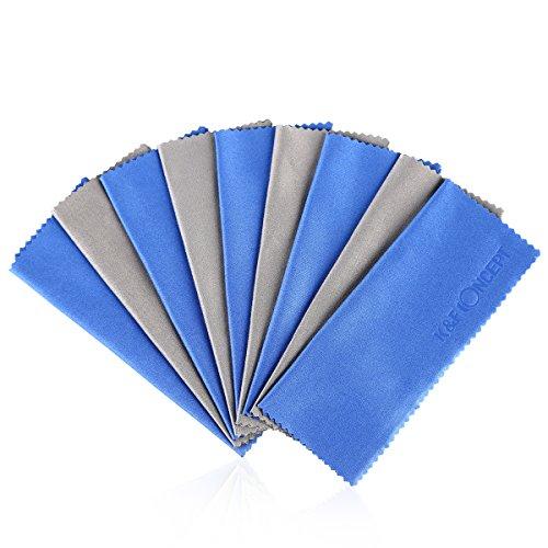Notebook Tuch Gebunden (K&F Concept® 10 teiliges Objektiv Mikrofaser Reinigungstuch für Kamera Objektiv Filter Display Laptop Handy und Billen-Putztuch Camera Cleaning Cloth)