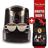 Arzum Okka Kaffeemaschine Schwarz Bronze + Pala Efendi Türk Kahvesi GRATIS DAZU