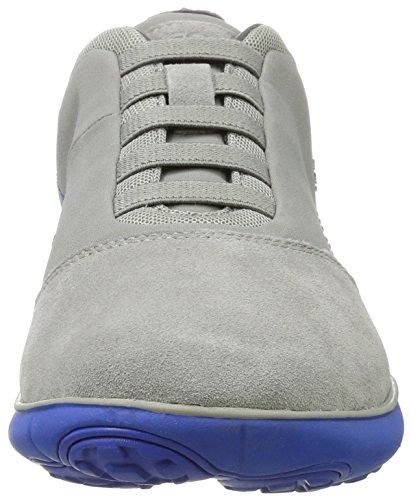 B Sneakers Bassi U Nebulosa Blu grigio Gris Homme Geox qzwEtB