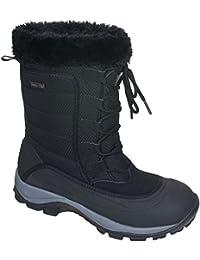 Trespass - Botas de Nieve Invierno Impermeables Modelo Stalagmite Mujer señora - Montaña/Frio