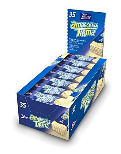 Foto de Tirma PT042241 - Ambrosías con Relleno Cubiertas de Chocolate Blanco - 1 x 35 Barritas