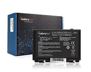 Batterytec® Batterie d'Ordinateur Portable pour A32-F82 A32-F52 L0690L6 Asus F-52 F-82 K-40 K-50 K-51 K-60 K-61 K-70 P-50 P-81[11.1V 4400mAh 12 mois de garantie]