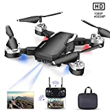 Drone con Telecamera, Mini Drone con 1080P HD FPV Wi-Fi per Video, Headless...