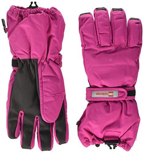 Lego Wear Mädchen Lego Tec Play LWALFRED 703-Fingerhandschuhe mit Membran Handschuhe, Rosa (Dark Pink 496), 4.5 (Herstellergröße:110/116)