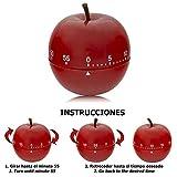 ORYX Minutero Cocina Manzana 60 Minutos