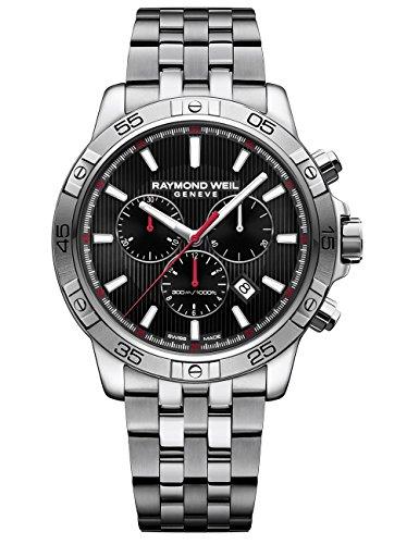 Raymond Weil, Herren, 302, Quarz-Edelstahl-Armbanduhr, Farbe: Silberfarben (Modell: 8560-st2-20001 (Weil Rw Raymond)