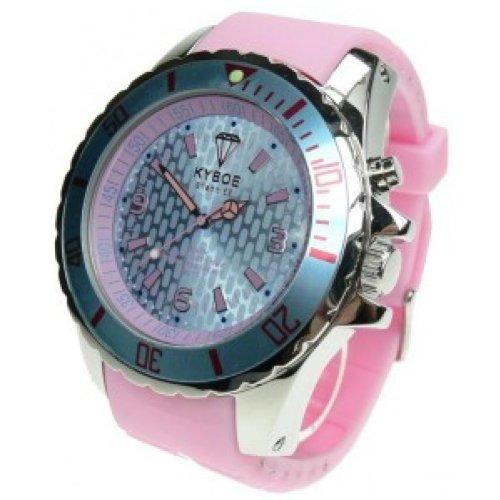 KYBOE! Reloj automático Unisex Rosa 55 mm