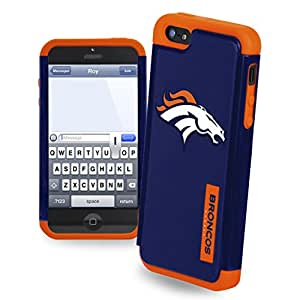 Forever Collectibles NFL Dual Hybrid iPhone 5/5S Rugged Case - DENVER BRONCOS
