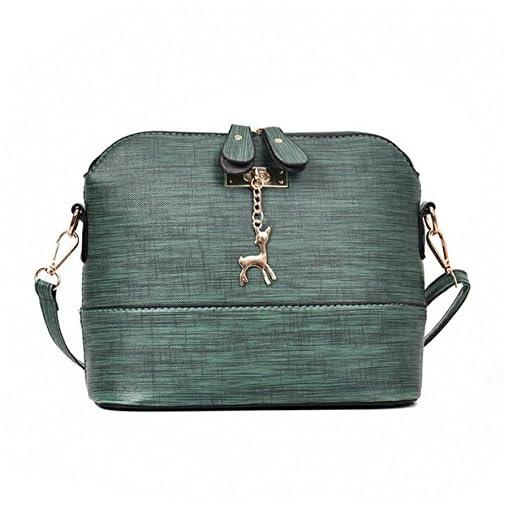 Yuan Women Crossbody Shoulder Messenger Leather Bag Ladies Mini Small Handbag Casual Packet