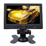 Minidiva® Tragbarer 7-Zoll-HD HDMI 1080p AV-VGA-LCD-Monitor für Auto DSLR & PC & DVD & Car Backup-Kamera