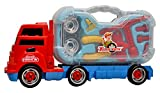 #4: Toyshine Truck Series Tool Box Toy with Briefcase, Projector in the Truck, Interactive Educational Toy