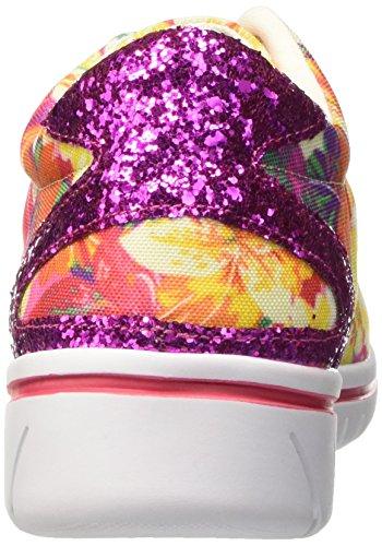 North Star 5495230, Pompes à Plateforme Plate Femme Multicolore (Multicolore)