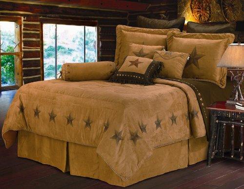 HiEnd Akzente Luxus star Betten, Tan Beige, Volle Größe