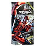 DC Comics Spiderman Dark Beach Towel Ddeal for Beach, Gym and Swimming pool