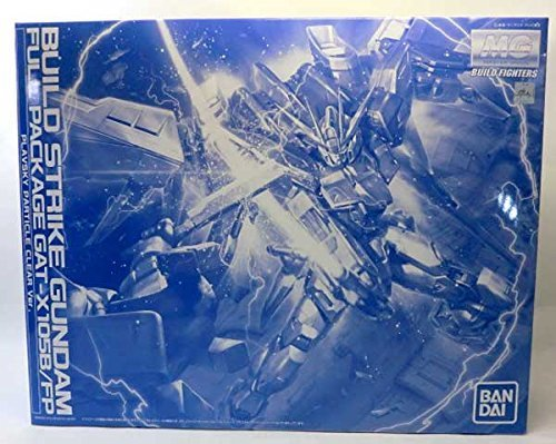 Bandai MG 1/100 GAT-X 05 B/FP Build Strike Gundam Full Package PLAVSKY PARTICKLE CLEAR Ver. (Gundam Build Strike)