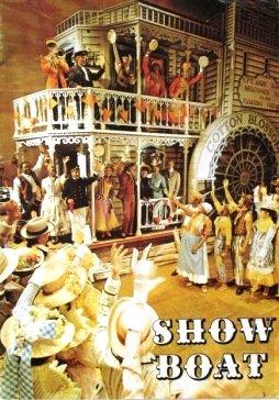 Show Boat: Theatre Souvenir Programme (Adelphi Theatre, London) 1971