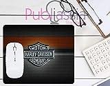 Publiassia Stamperia Harley Davidson 4 Mousepad Tappetino per Mouse Moto Idea Regalo Motor Motorcyclist Computer Tastiera Ufficio Gadget Lavoro Nerd Accessori pc Biker Accessori Moto Motociclisti