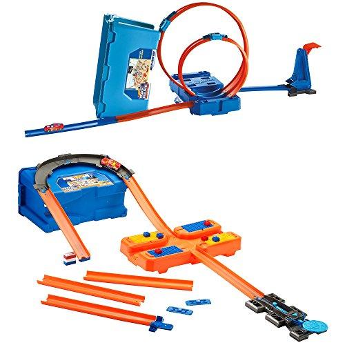 Hot Wheels - Caja de acrobacias (Mattel FLK89)