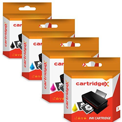 Juego de 4 cartuchos de tinta compatibles de repuesto para impresoras HP Designjet T120 T520 711 CZ129A CZ130A CZ131A CZ132A