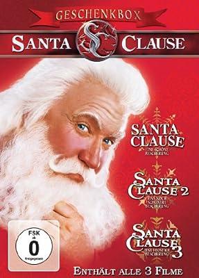 Santa Clause 1-3 [3 DVDs]