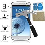Evess Protector Pantalla Cristal Templado Samsung Galaxy S3 Maxima Proteccion Premium