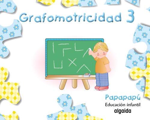 Grafomotricidad 3 (Papapapú) - 9788484339984