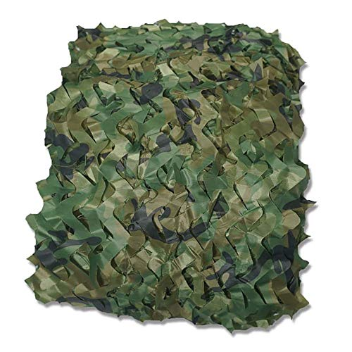 QINGJIU Camouflage Netting Camo Net Sonnenschutznetze für Sonnenschutz Camping Militärische Schießen Blind beobachten Partydekorationen ausblenden (größe : 6x8M)