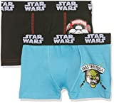 STAR WARS Boxer packx2 Short de Bain, Mehrfarbig (Multicolor B2), 6 Ans (Lot de 2) Garçon