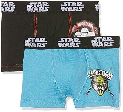 Star Wars Jungen Badehose boxer SW/AM/3/PK2, 2er Pack, Gr. 116 (Herstellergröße: 5/6), Mehrfarbig (Multicolor B2)