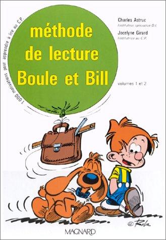 Boule et Bill : Méthode de lecture, CP (Coffret de 2 volumes)
