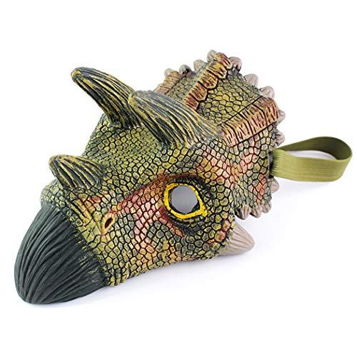 Fansport Halloween Maske 3D lustige Dinosaurier Design Tier Maske Kostüm Maske Party Maske (Lustige Tier Kostüm Streiche)