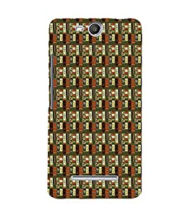Abstract Painting 3D Hard Polycarbonate Designer Back Case Cover for Micromax Canvas Juice 3 Q392