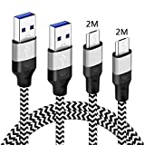 Micro USB Cable 2m 2m For Huawei P8 Lite 2017/P9 Lite/P10