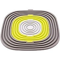 Ellepigy Anti-Rutsch-Silikon Tisch Isolierung Küche Pad, grau