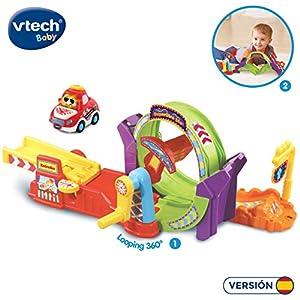 VTech- TTB Supergiro 360º Pistas Coches looping tut bólidos (3480-534922)