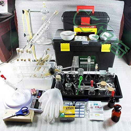 Laborgeräte-Werkzeugset Chemie-Experimentier-Set, Glaswarenröhrchen, Kolben, Reagenz Kids Home Lab (Home-chemie-set)