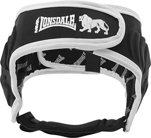 Lonsdale Erwachsene MMA-Gehörschutz, schwarz