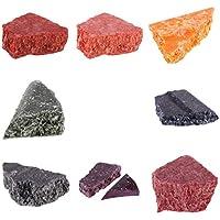 MagiDeal Set De 8 Pcs Cire Pour Fabrication De Bougie Bloc Colorant Multicolore DIY