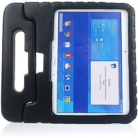 Cocodrilo de piel sintética cierre magnético smart cover funda para Samsung Galaxy Tab 410.1SM-T530NU