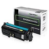 Original Logic-Seek Green Toner kompatibel zu HP CE252A Color Laserjet CM3530 CP3525 Series