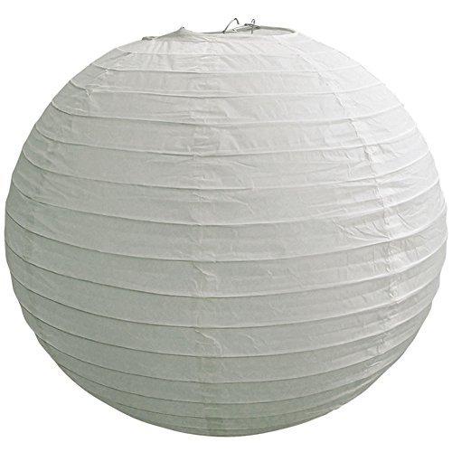 12grau/grau runde Papier Laterne, auch Reizstruktur, aufhängen (10Stück) von quasimoon (Grau Runde Papier-laterne)