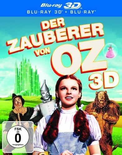 [3D Blu-ray] (Film Der Zauberer Von Oz)